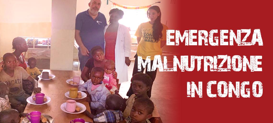 """Emergenza Malnutrizione – Al  """"collasso""""la Nostra Unità Nutrizionale Terapeutica"""